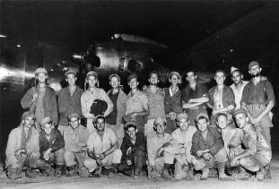 Group at Kwajalein Atoll